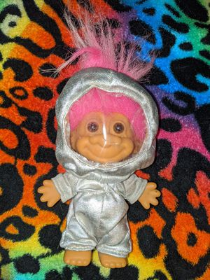 Russ Troll Astronaut Pink Hair Doll for Sale in Tacoma, WA