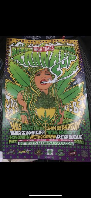 Poster high times rare collectible for Sale in Poway, CA
