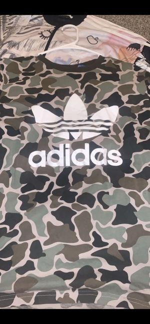 Adidas shirt camo for Sale in Boulder City, NV