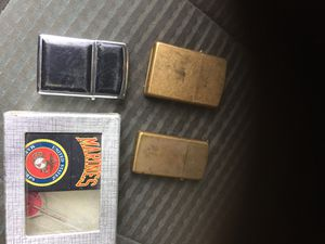 4 OLD USED ZIPPO LIGHTERS for Sale in Greenville, SC