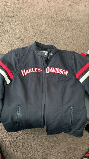 Harley Davidson women's SMALL riding coat for Sale in Circleville, OH