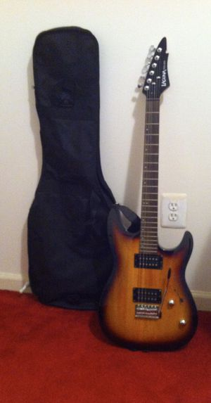 Laguna electric guitar with amplifier for Sale in Springfield, VA
