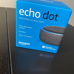 AMAZON ECHO DOT 3RD GEN NEW NEVER OPENED for Sale in Costa Mesa, CA