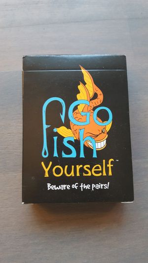 Go Fish Yourself card game for Sale in Portland, OR