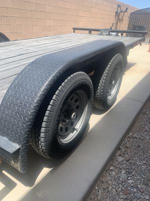 2015 flat bed trailer for Sale in Las Vegas, NV