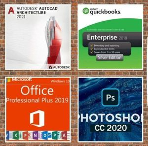 Do you need Microsoft Office Lifetime? AutoCad 2021? Adobe Photoshop Lifetime? Fraction the cost! for Sale in Beaumont, CA