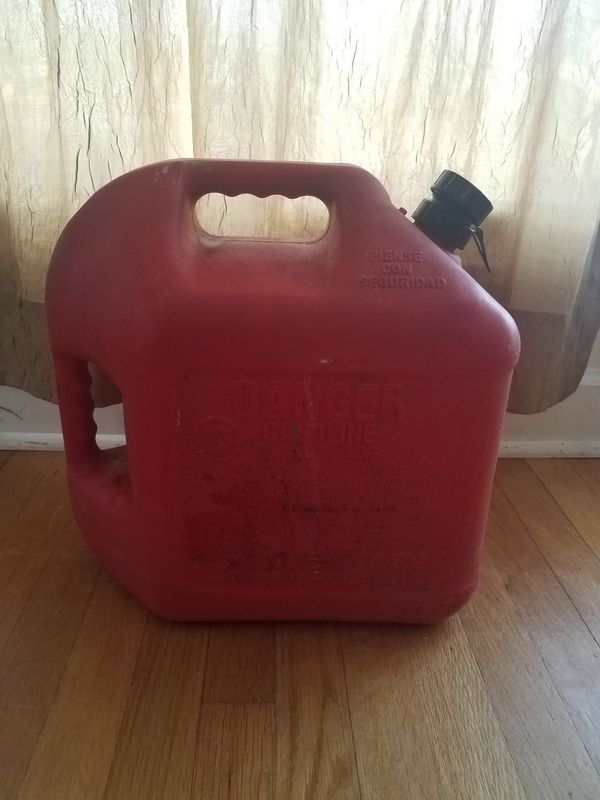 USED GAS CONTAINER