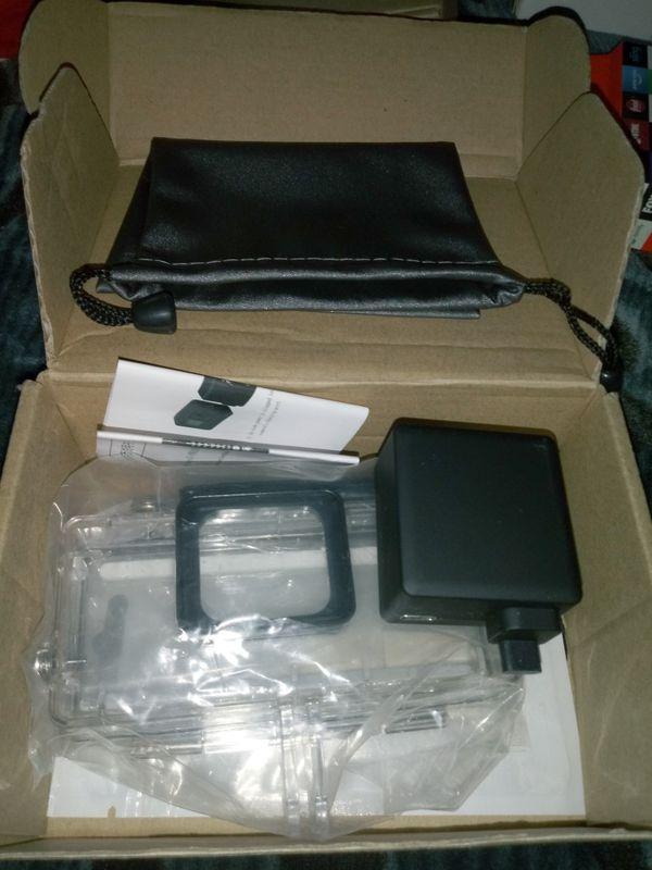 GoPro Hero 5 Side Battery and Waterproof case