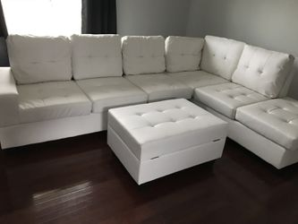 Leather sectional for Sale in Norcross,  GA