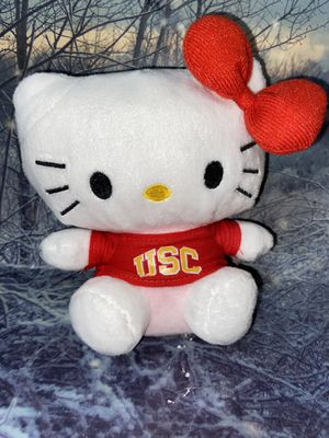 "Sanrio Hello Kitty 6"" Plush with USC shirt for Sale in Long Beach, CA"