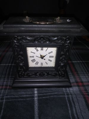 Antique Black Clock for Sale in Lake Worth, FL