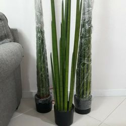 Artificial Snake Plant 4ft for Sale in Hialeah,  FL