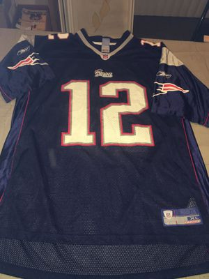 Nwot New England Patriots Tom Brady Reebok Jersey Mens XL Blue for Sale in Rochester Hills, MI
