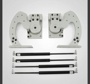 VEVOR Universal Lambo Door Bolt On Vertical Doors Kit Adjustable Silver for Sale in Ontario, CA