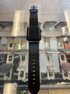 Apple watch 3 42 mm leather band only $270 for Sale in Las Vegas, NV