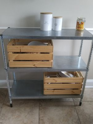 Metal shelves for Sale in Sewell, NJ