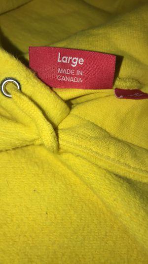 Supreme (lg) hoodie for Sale in San Antonio, TX