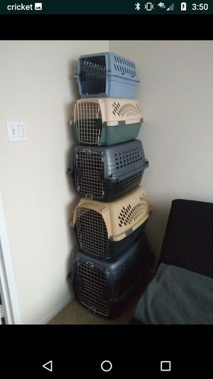 Cat and Dogs Crates Kennels Carriers all sizes for Sale in Alexandria, VA