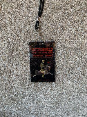 Astroworld season pass - Travis Scott for Sale in Poway, CA