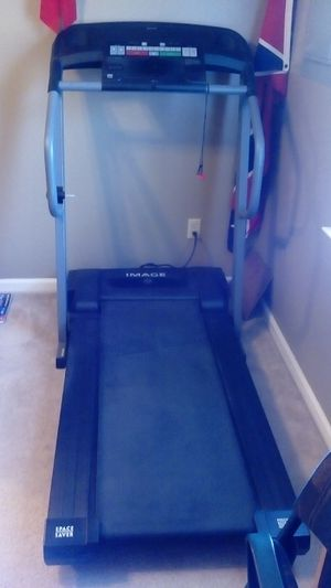 Image space saver tread mill for Sale in Gladys, VA