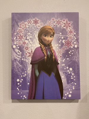 Anna with Heart (frozen) canvas for Sale in Chula Vista, CA