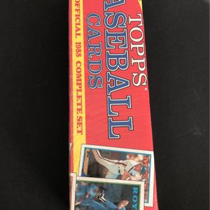 1988 Topps Baseball Cards Complete Set Unopened for Sale in Humble, TX