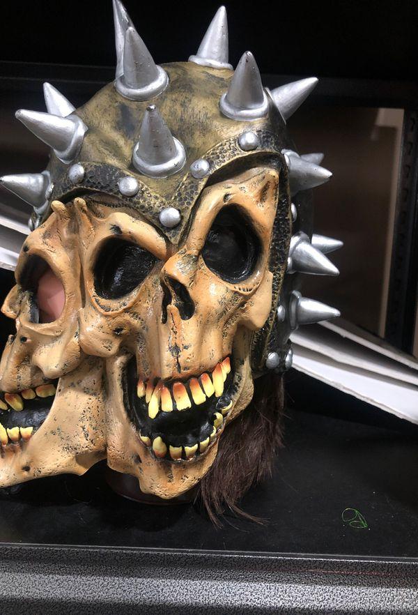 3 face skeleton mask