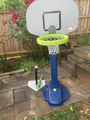 Basketball goal and Tee Ball -Both are adjustable for Sale in Baltimore, MD