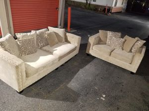 Cindy Crawford Tufted Sofas for Sale in Duluth, GA