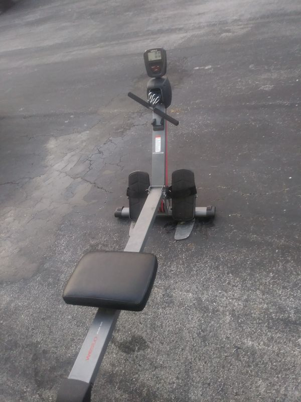 Row machine weslo flex 3.0