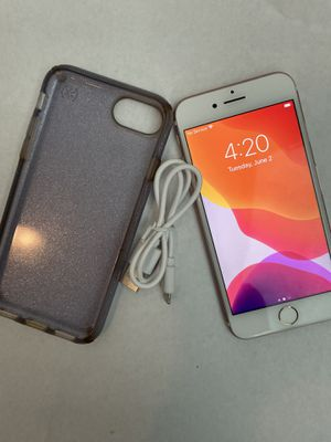 iPhone 7 Rose Gold 128GB Unlocked-(Charger+Case+Backprotector) for Sale in Salt Lake City, UT