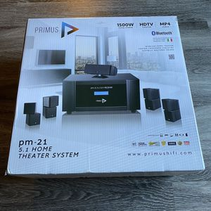 Primus Home theater system for Sale in Frederick, MD