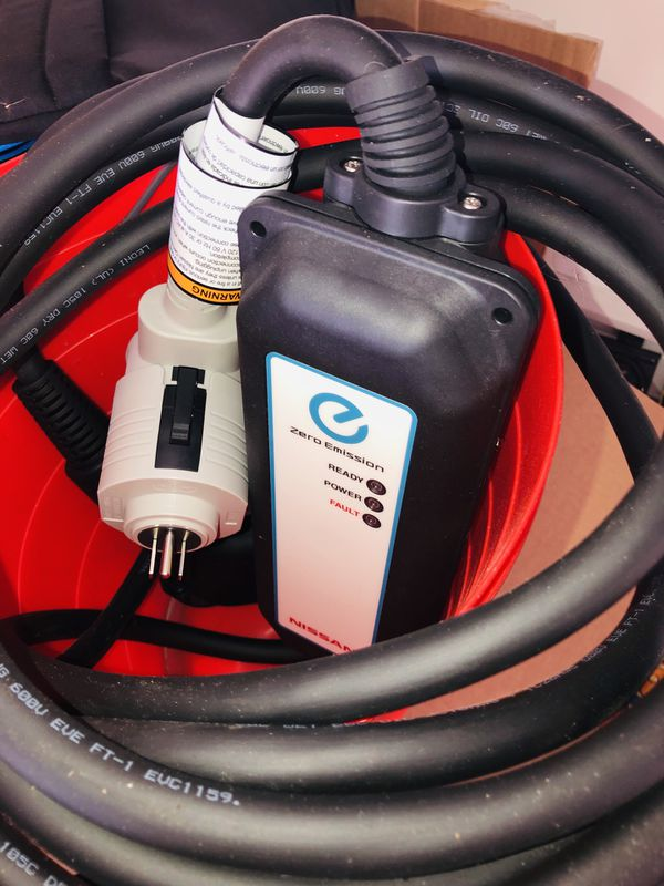 Nissan Electric Car Charger Battery
