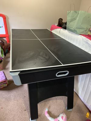 Air hockey and ping pong table for Sale in Columbus, OH