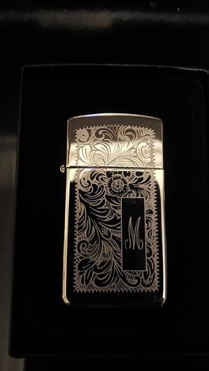 "Brand new Zippo Engraved ""M"" for Sale in Frostproof, FL"