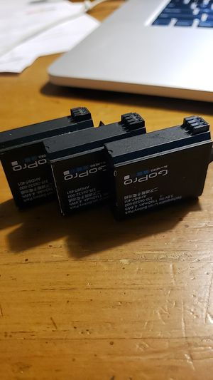 3 gopro hero4 batteries for Sale in Laveen Village, AZ