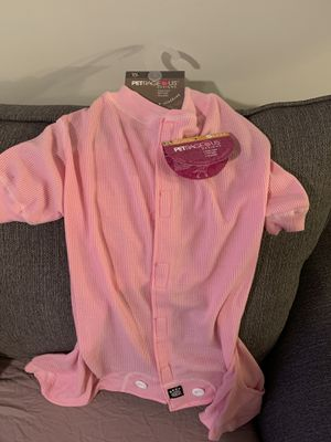 Doggy Pjs - pink and cozy for Sale in Weaverville, NC