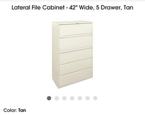 2 large File cabinets for Sale in Norwalk, CA