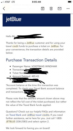 JetBlue credits for Sale in Cary, NC
