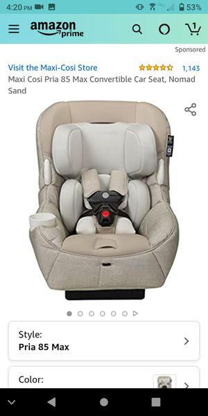 Maxi Cosi Pria 85 Max Convertible Car Seat for Sale in Charlotte, NC