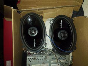 Rockford fosgate door speakers $75 for Sale in Phoenix, AZ