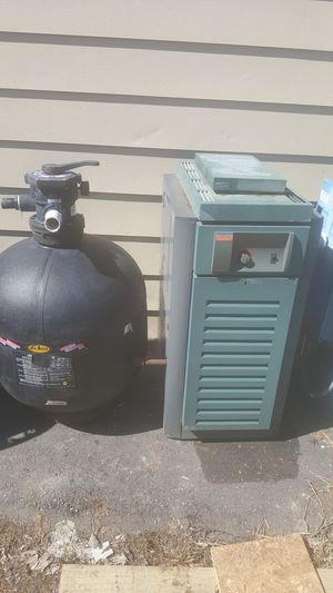 INGROUND POOL HEATER, FILTER, PUMP for Sale in Grand Blanc, MI