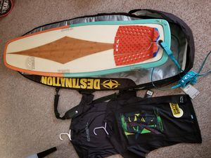 Ry Harris ecotech duckbill surfboard with extras for Sale in Orlando, FL