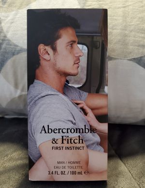 Brand New Abercrombie & Fitch Men's Large Cologne- 100ml 3.4oz Basic Instinct for Sale in Dallas, TX