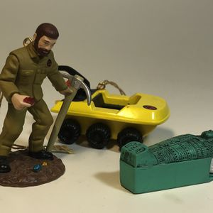 Classic G.I. Joe And The Mummy's Tomb 3 Pack Christmas Ornaments for Sale in Cuyahoga Heights, OH