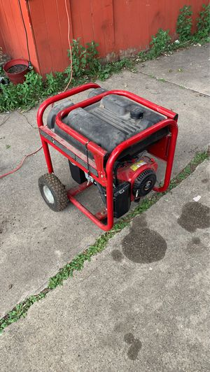 Generator powermate 5000 watts for Sale in Melrose Park, IL
