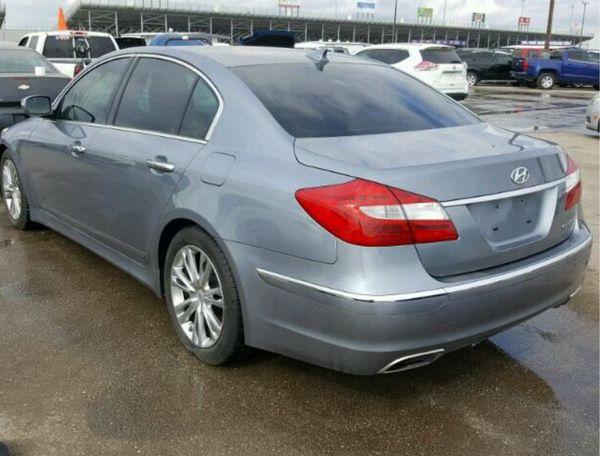 PARTS 2009 , 2010 , 2011 , 2012 , 2013 , 2014 Hyundai Genesis 3.8 Sedan