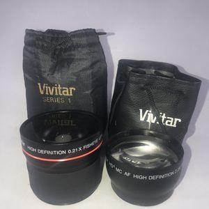 Nikon Fisheye & HD lenses. for Sale in Las Vegas, NV