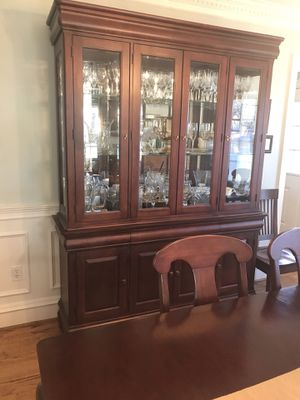 Andre Drew dining set solid wood for Sale in Alexandria, VA