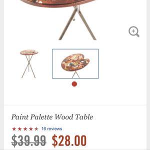 🎨 Paint Palette Table for Sale in Denver, CO